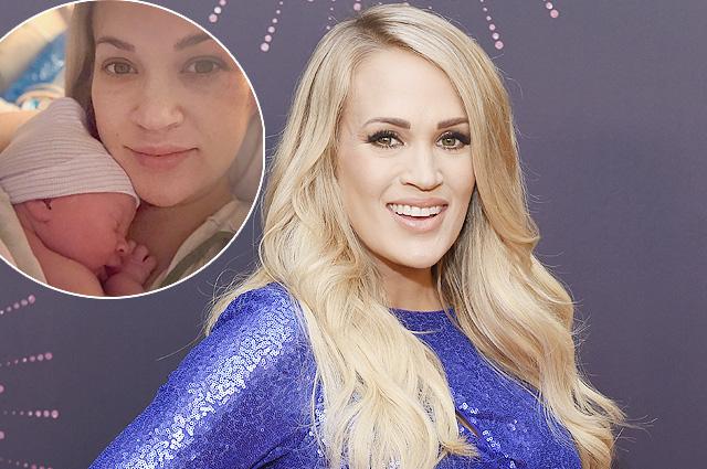 Певица Кэрри Андервуд стала мамой во второй раз
