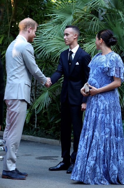 Принц Гарри и Меган Маркл в Марокко