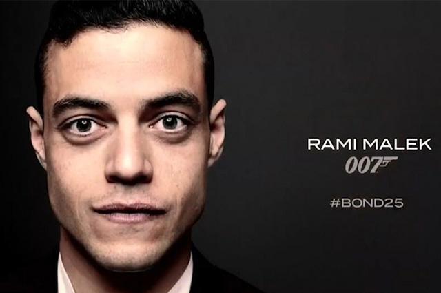 Стал известен актерский состав нового фильма о Джеймсе Бонде: Рами Малек — главный злодей
