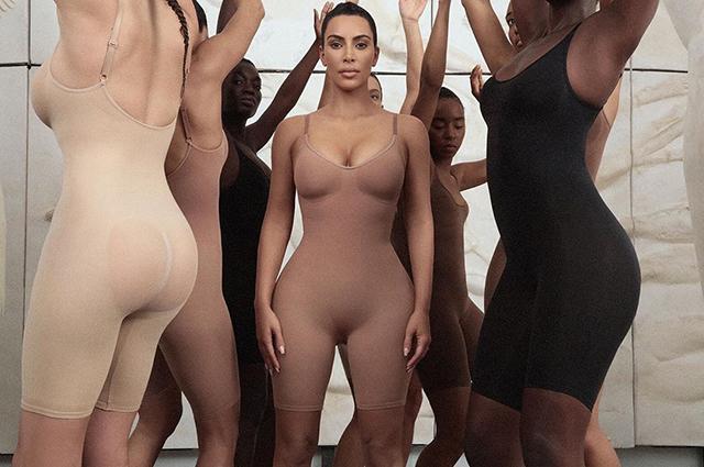 Ким Кардашьян представила свой новый бельевой бренд