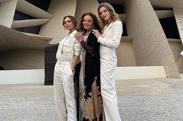 Виктория Бекхэм, Наталья Водянова, Диана фон Фюрстенберг и другие на открытии Национального музея Катара
