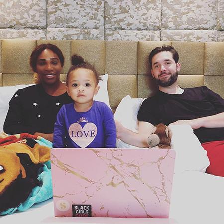 Серена Уильямс побывала в гостях у Меган Маркл и познакомилась с ее сыном Арчи
