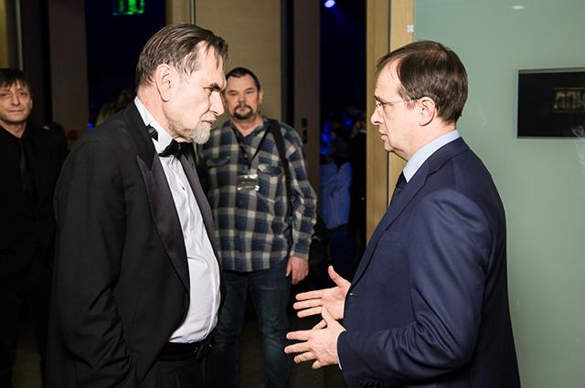 Сергей Сельянов и Владимир Мединский