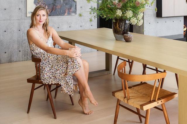 Мария Шарапова показала свой дом в Лос-Анджелесе: фото особняка теннисистки