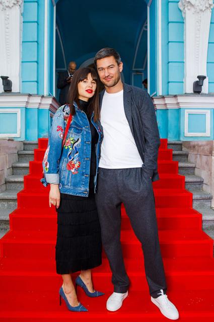 Мила Волчек и Алексей Гарбер