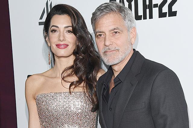 Амаль и Джордж Клуни пригласили поклонников на двойное свидание в своем доме на озере Комо