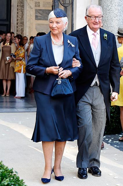 Королева Паола и король Альберт II
