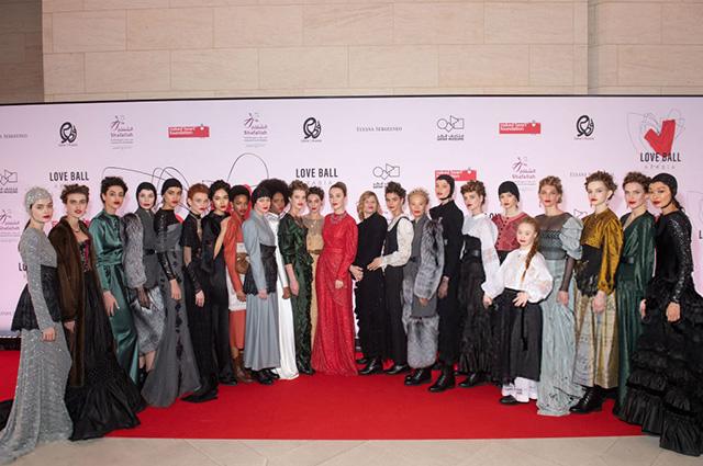 Наталья Водянова, Иман, Ульяна Сергеенко, Маша Федорова и другие гости на гала-вечере Love Ball Arabia