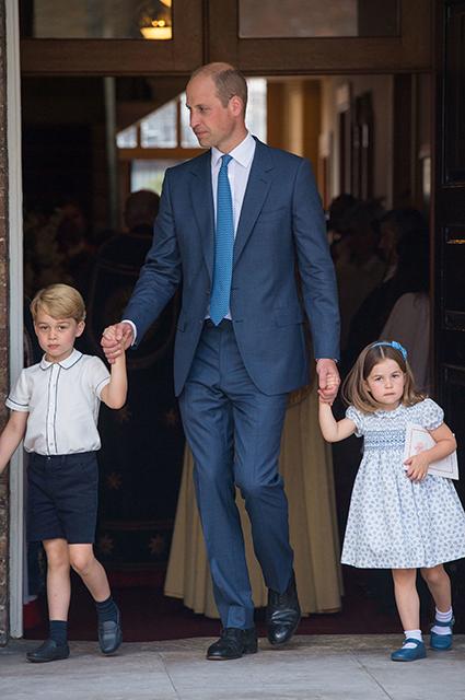 Принц Джордж, принц Уильям, принцесса Шарлотта