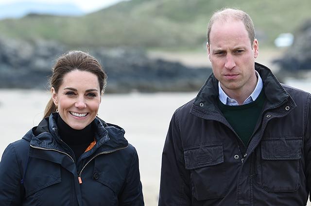 Кейт Миддлтон и принц Уильям провели каникулы с детьми в Норфолке