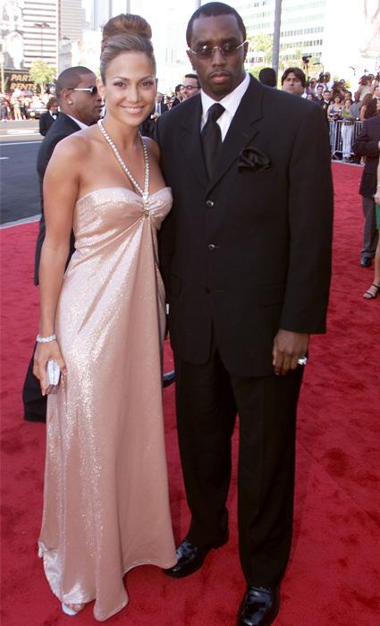 Дженнифер Лопес и Пи Дидди в 2000 году