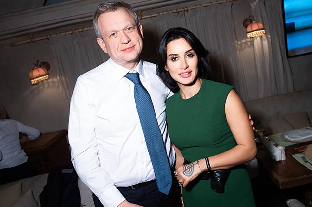 Тина Канделаки по-грузински весело отметила день рождения своего ресторана