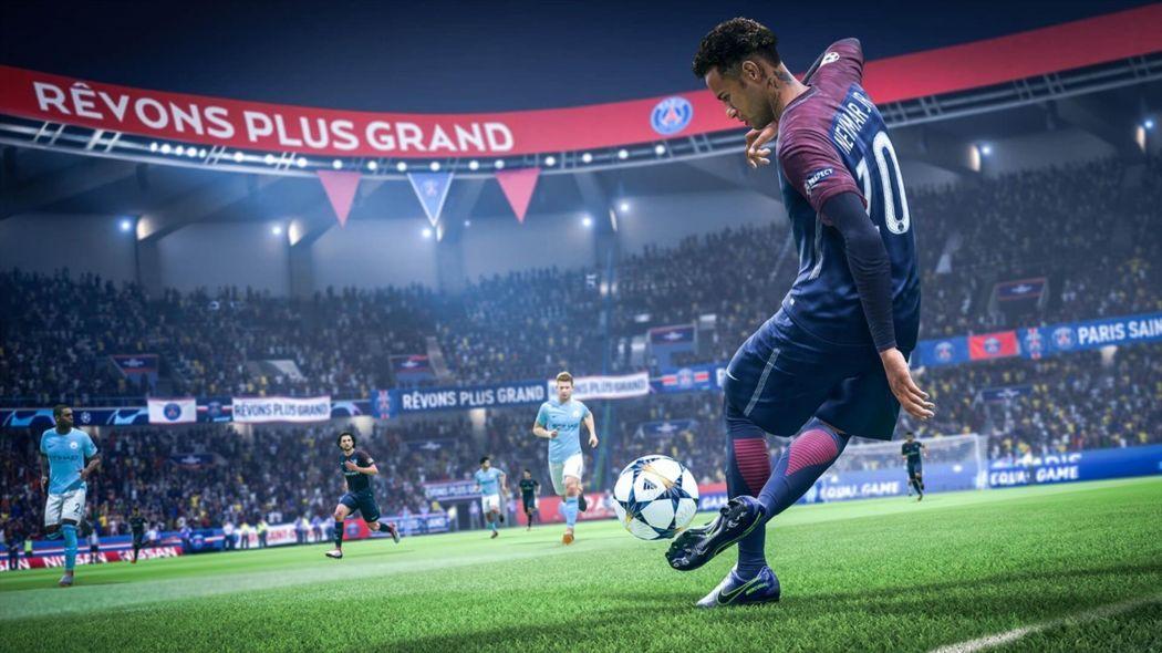Купить онлайн спортивный симулятор FIFA