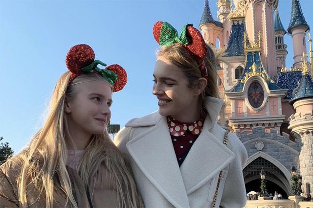 Наталья Водянова празднует день рождения дочери Невы