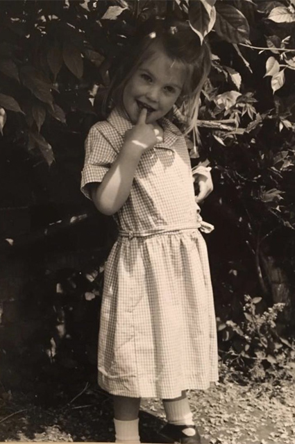 Леди Китти Спенсер в детстве