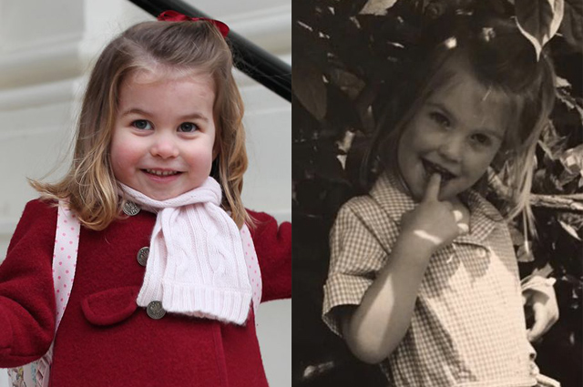 В сети обсуждают сходство принцессы Шарлотты и племянницы принцессы Дианы