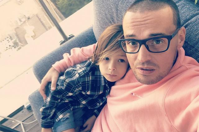 Гуф с сыном