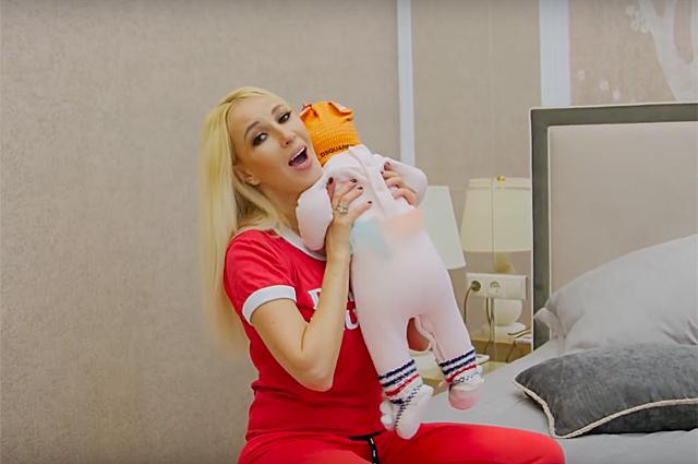Лера Кудрявецева с дочерью
