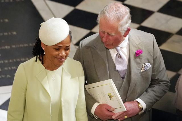 Дория Рагланд и принц Чарльз