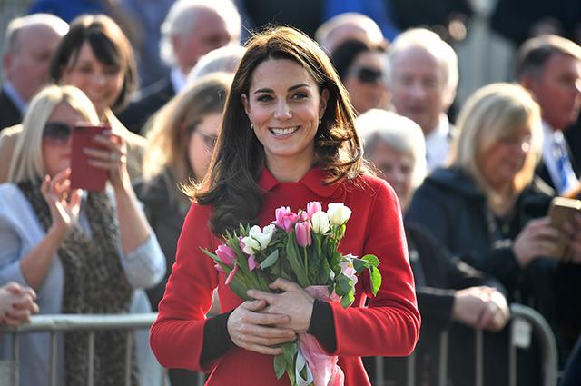Кейт Миддлтон и принц Уильям приехали с визитом в Северную Ирландию