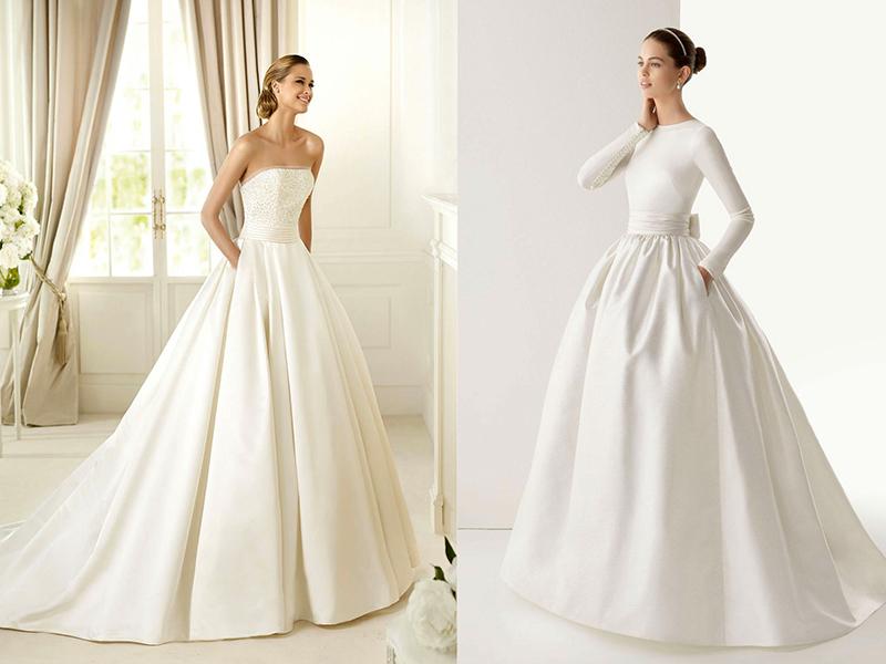 Выбор подходящей ткани для вашего свадебного платья