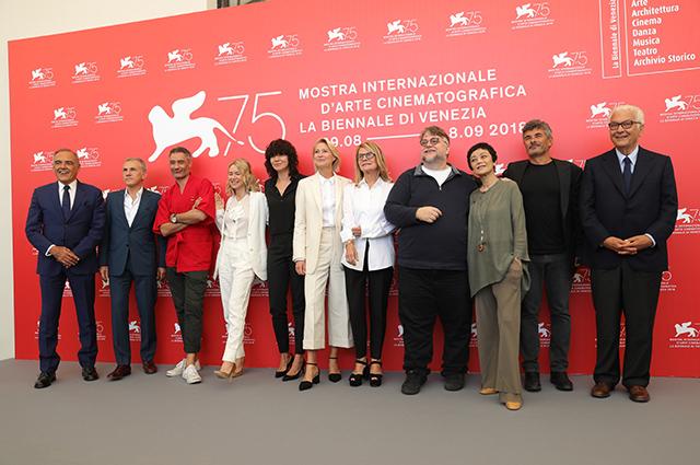 Члены жюри 75-го Венецианского кинофестиваля