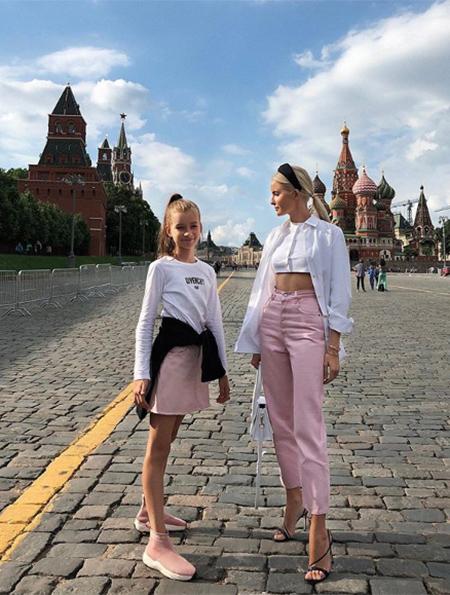 Наталья Якимчик с дочерью