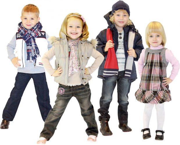Модная одежда для детей и подростков