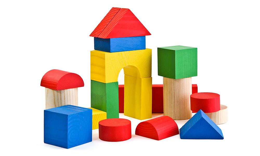 Красочный конструктор для детей