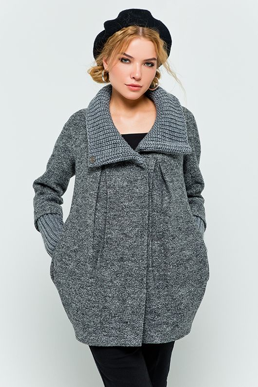 Современные женские пальто от производителя
