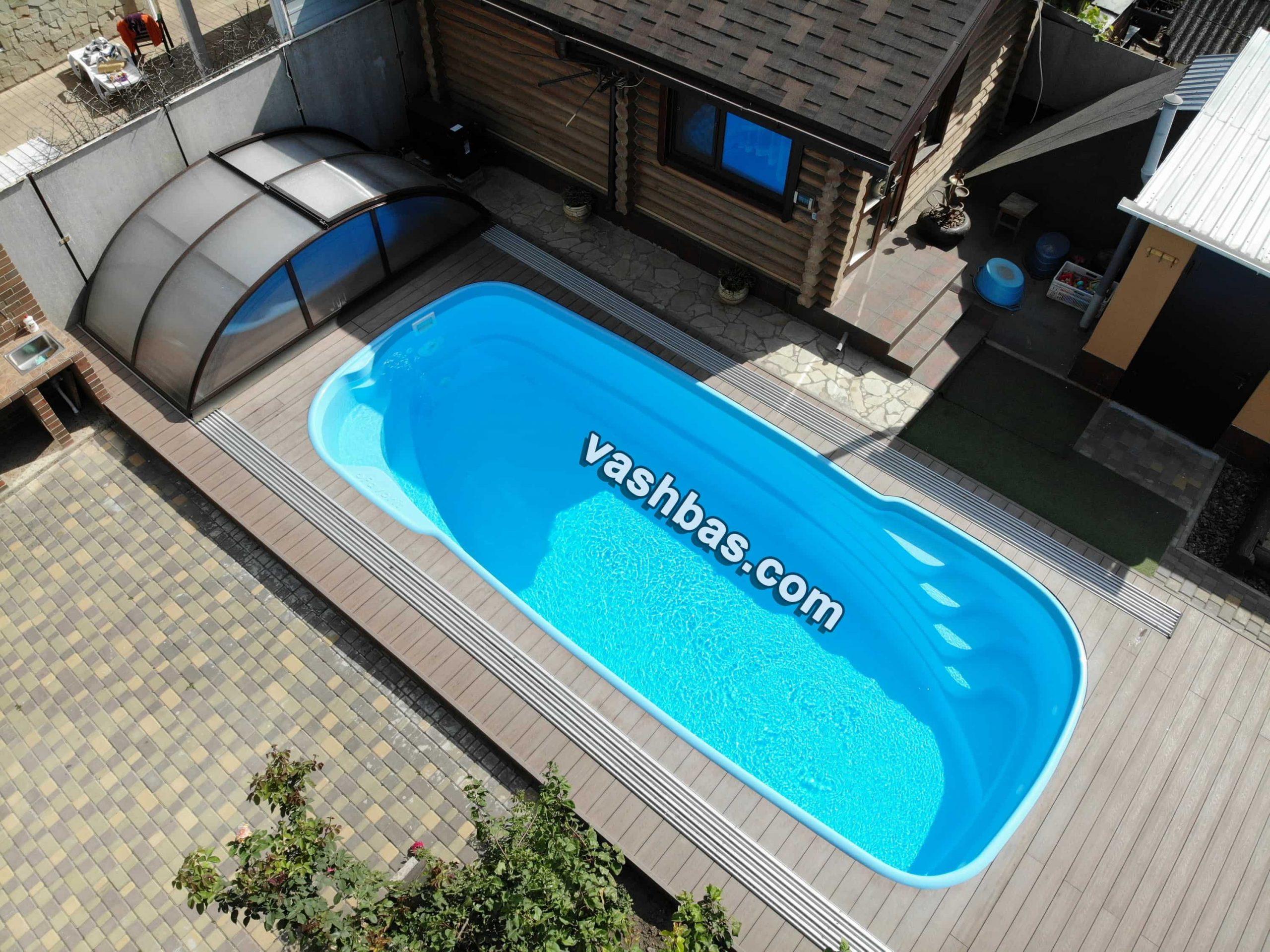 Строительство бассейнов в Одессе по лучшей цене от интернет-магазина vashbas.com