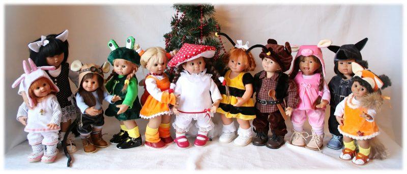В куклах спрятана сказка…