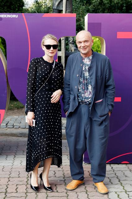 Оксана Акиньшина и Андрей Смоляков