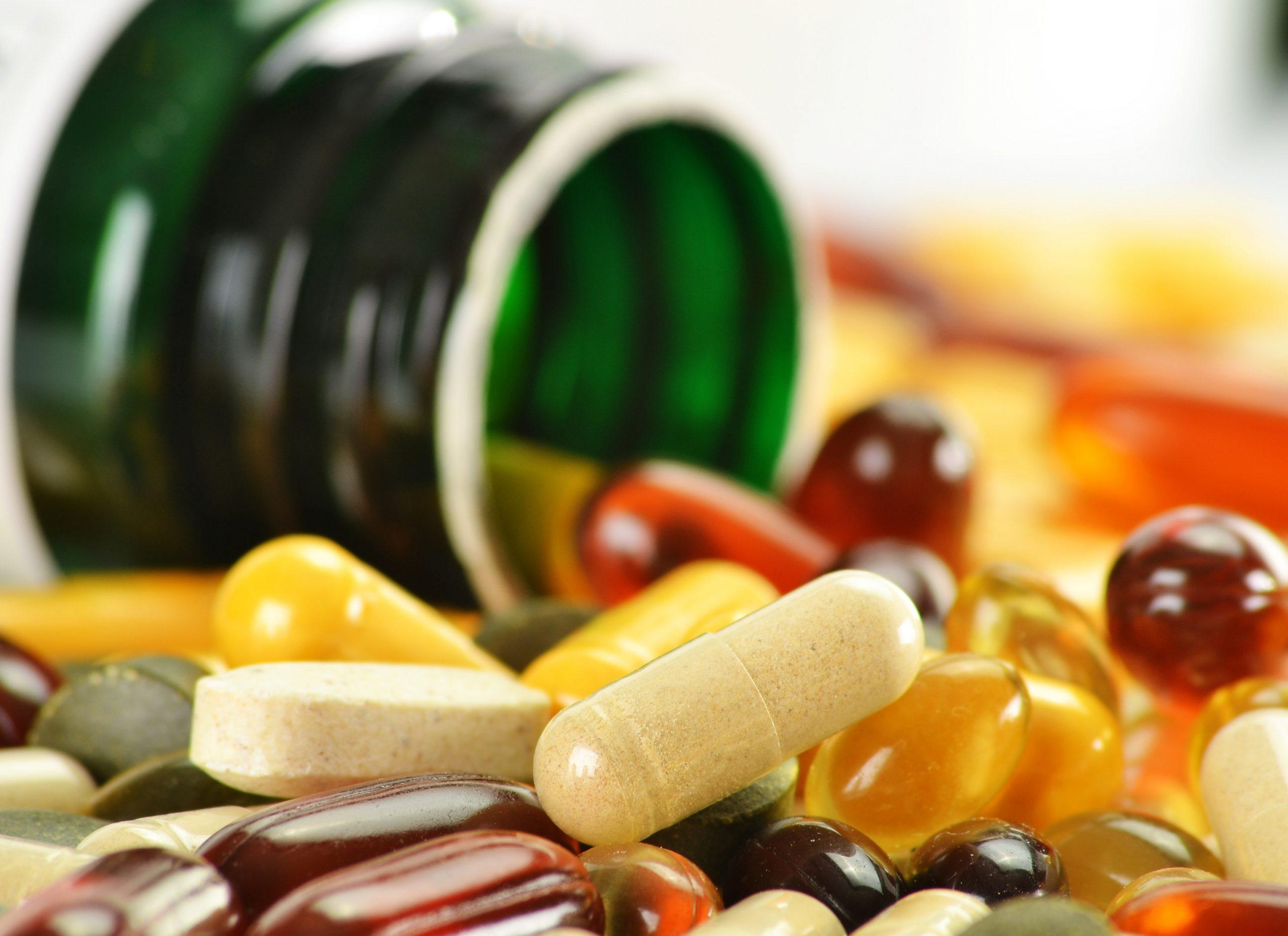 Биологически активные добавки для поддержания здоровья