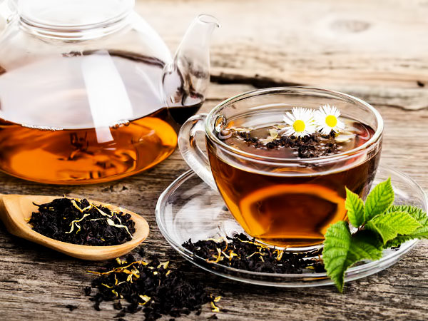 Утренний чай полезен для здоровья