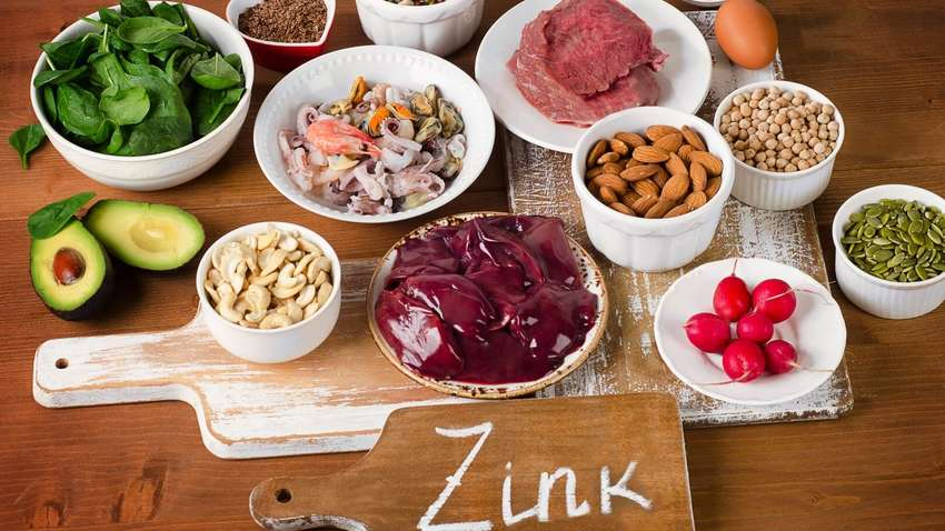 Названы лучшие продукты с высоким содержанием цинка