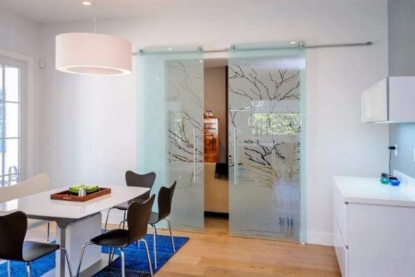 Какие двери подойдут для интерьера кухни