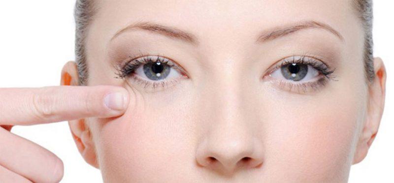 Специальная профессиональная косметика вокруг глаз