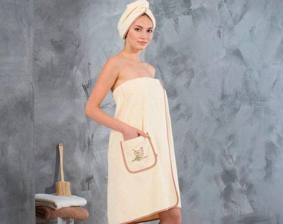 Идея для подарка – женский набор для сауны