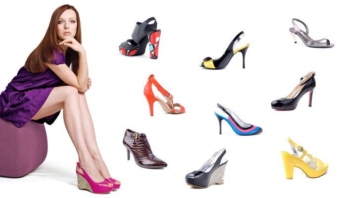 Туфли женские на каблуке от итальянских брендов