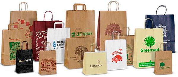 Подарочные пакеты с логотипом
