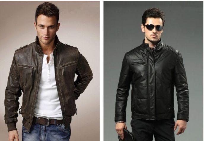Качественные мужские кожаные куртки по доступной цене
