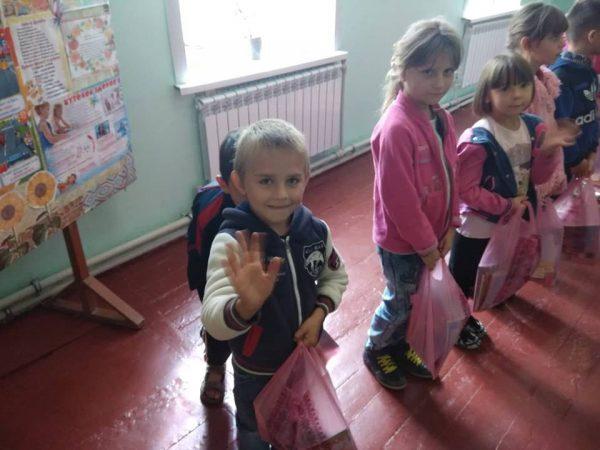 Благотворительная помощь детям в Украине