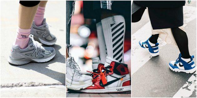 Красивые и стильные кроссовки для всех