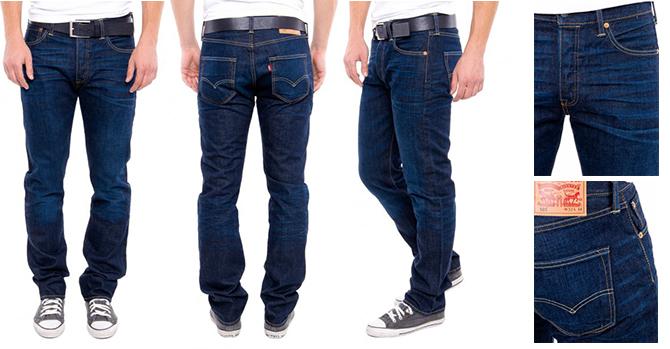 Где купить классические джинсы Levis