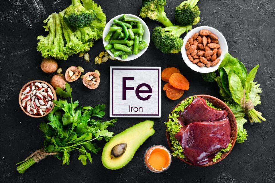 «Зимние» продукты, в которых содержится больше всего железа